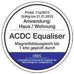 ACDC Equaliser Zertifikat