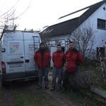 Unsere Top-Monteure: Andreas Holzmüller, Mehmet Cicek und Herbert Anderl